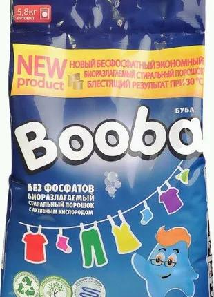 Пральний порошок Booba Color 5800g