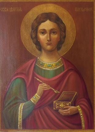 Икона Святого Пантелеимона Целителя