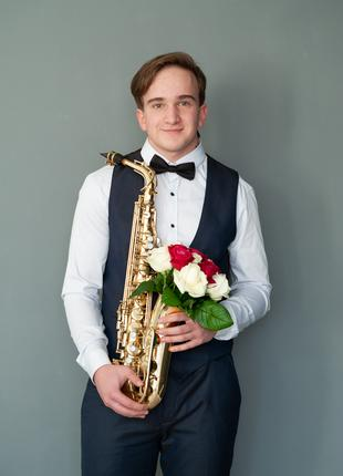 саксофонист на торжество в Одессе, Николаеве, Херсоне