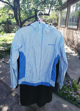 Ветровка дождевик куртка columbia 42-44 р