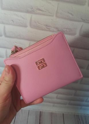 Женский кожаный кошелек из экокожи жіночий гаманець маленький
