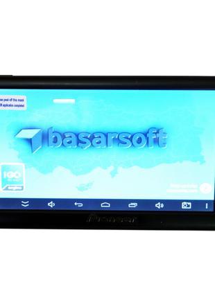 Надежный 7'' GPS навигатор Pioneer 715 Android 4 Ядра 8 Gb пла...