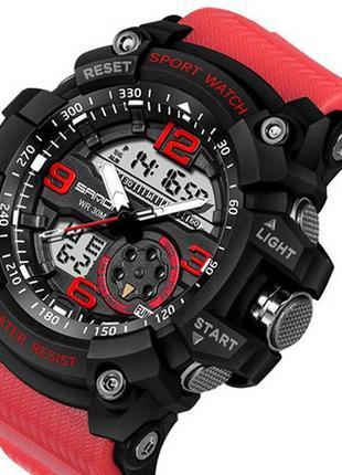 Наручные часы Sanda 759 Red-Black