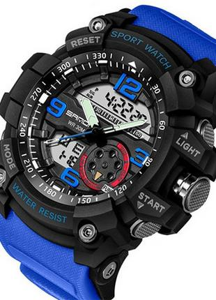 Наручные часы Sanda 759 Blue-Black