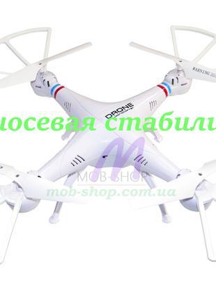 Квадрокоптер 1million + пульт управления (летающий коптер дрон...