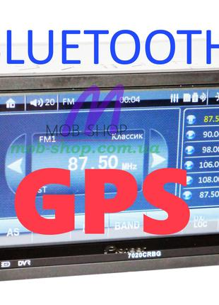 "2 din Автомагнитола пионер Pioneer 7020 CRBG 7"" GPS Bluetooth ..."