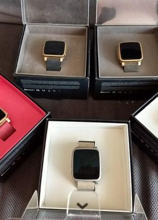 Pebble Time Steel Watch умные часы apple smart iphone gear and...