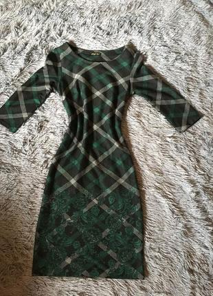Платье футляр на весну офисный стиль