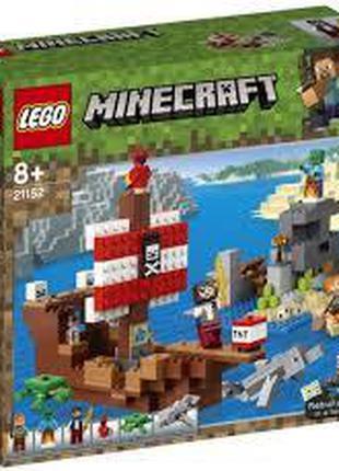 LEGO Конструктор Minecraft Пригоди на піратському кораблі