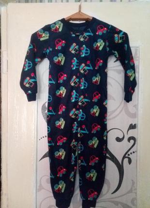 Пижама кигуруми флис