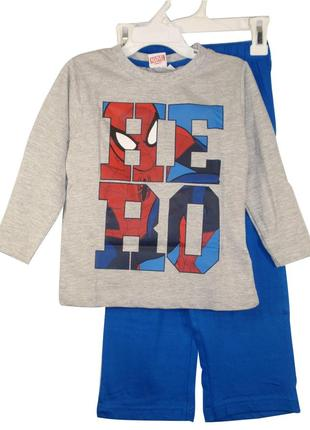 Пижама домашний костюм человек паук spider man от marvel-р. 92-98