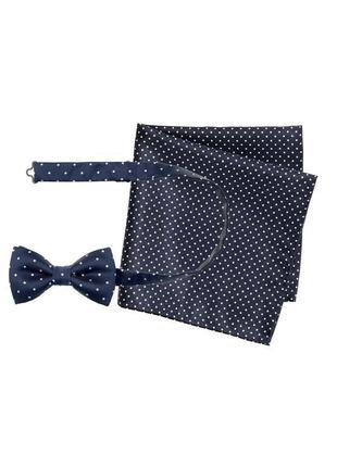 Синяя бабочка и носовой платок h&m !