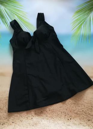 Суперский сдельный купальник-платье с утяжкой