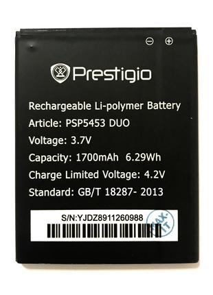 Prestigio PSP5453 DUO Metal Аккумулятор Батарея
