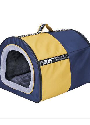 Лежак домик для собак Hoopet 19W0019G размер L спальное место ...
