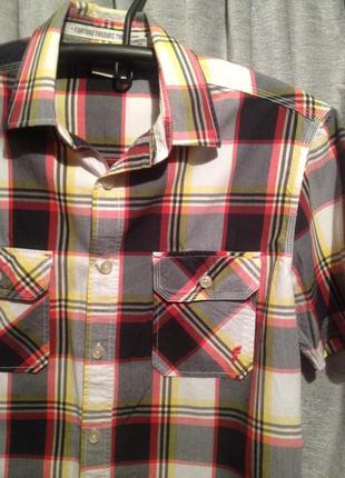 Рубашка приталенная.351