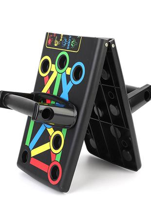 Складные упоры для отжиманий Push Up Rack Board MJ-040 Black д...