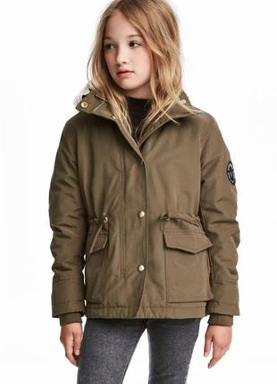 Распродажа! куртка-парка для девочки h&m
