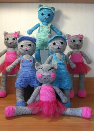 Вязаные мягкие игрушки , куклы ручная работа, качественная пряжа