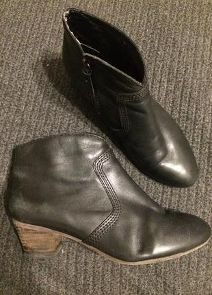 Clarks кожаные ботинки ботильоны