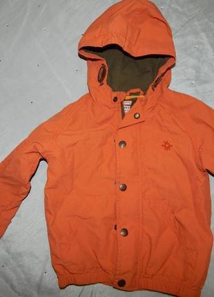 Куртка ветровка на мальчика 2-3 года 98см от next