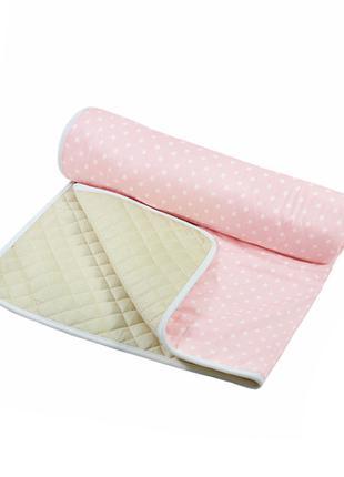 Матрас для вигвама Lesko D002 Звезды Pink детский коврик
