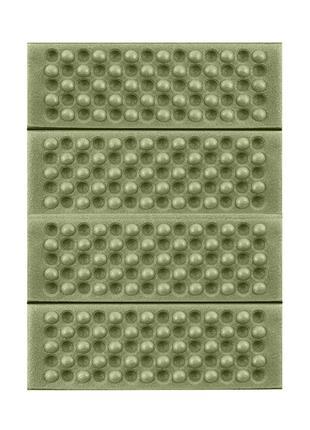 Туристический складной коврик сидушка Lesko Shanpeng Green кар...