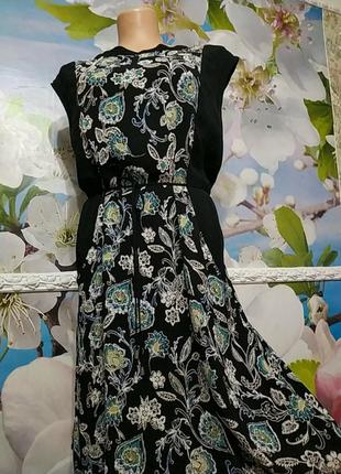Шелковое платье расшито бисером в цвет рисунка 16р.индия  matt...