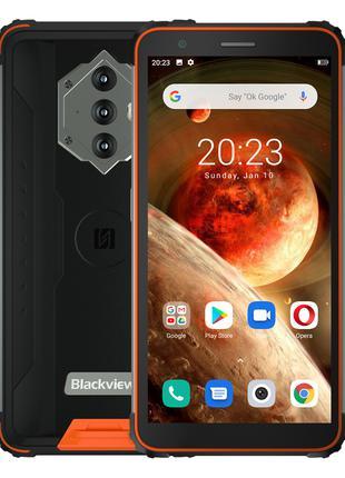 СмартфонBlackview BV6600 orange мощный аккумулятор 8580 mAh + ...