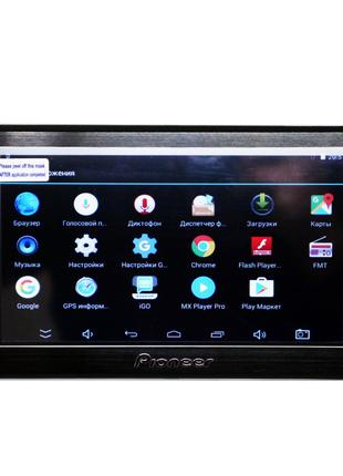 Надежный 7'' GPS навигатор Pioneer 711 Android 8 Gb планшет пи...