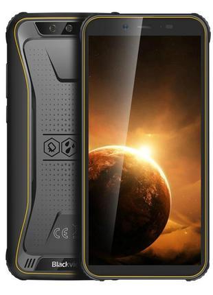 Защищенный смартфон Blackview BV5500 Plus yellow 3/32 Гб + ста...