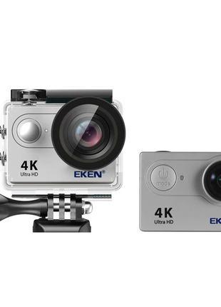 Экшн камера Action Camera EKEN H9 4K silver для активного отды...