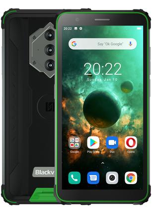 Смартфон Blackview BV6600 green мощный аккумулятор 8580 mAh + ...