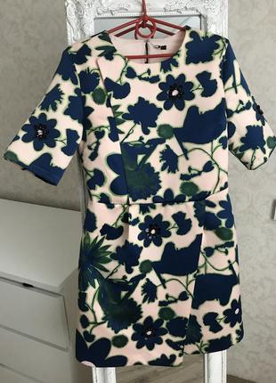 Платье плотная ткань