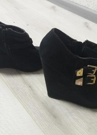 Ботинки ботильоны бренд  new look
