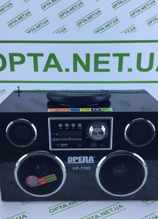 Портативная колонка с радио Opera OP-7705