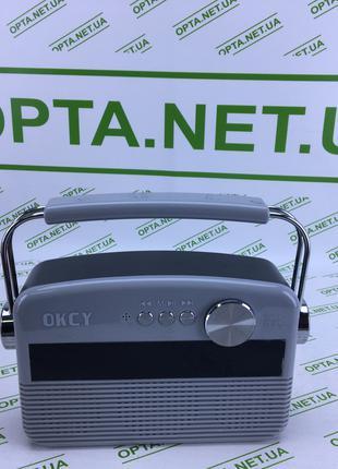 Портативная колонка-радио Okcy A11
