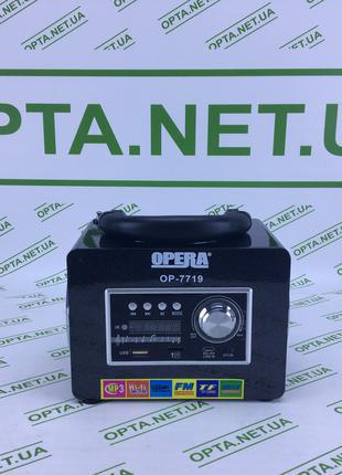 Портативная колонка с радио Opera OP-7719