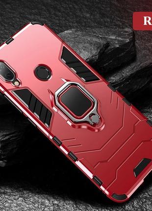 Чехол,  Бампер для Huawei P20 Lite - Противоударный с Кольцом