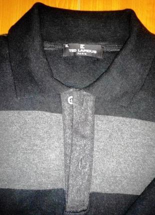 Мужской свитер лонгслив  ted lapidus