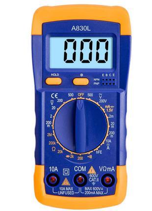 Мультиметр цифровой универсальный (тестер) А830 L