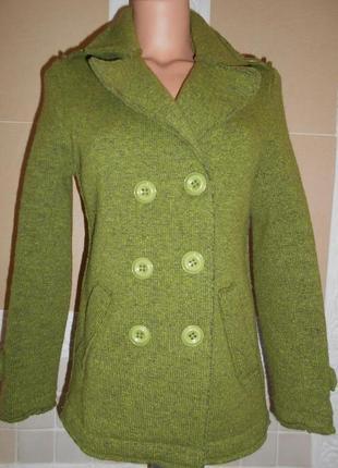 Шикарное пальто,жакет  италия s\m