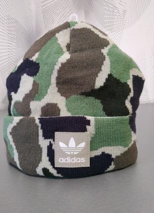 Новая шапка adidas originals beanie hat
