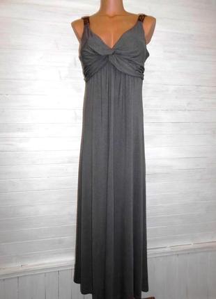 Шикарное длинное платье вечернее,или повседневное