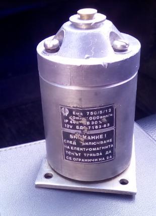 Электромагнит ЕМА 750/5/12 220 вольт