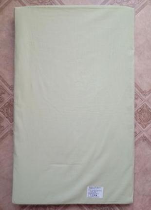 Новый детский зеленый матрас 70x42x3 см.