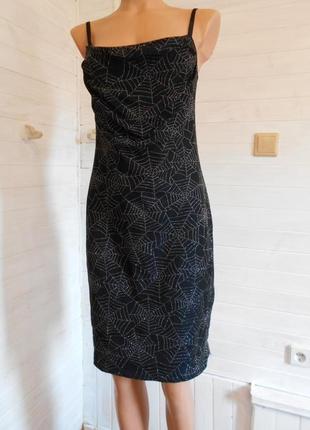 Готическое  стильное платье m-l