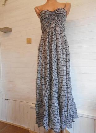 Платье сарафан длинный  летний kappahl