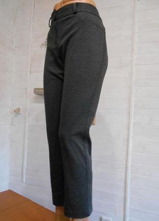 Теплые  брюки,лосины,трикотажные с кармашками на попе и на мол...