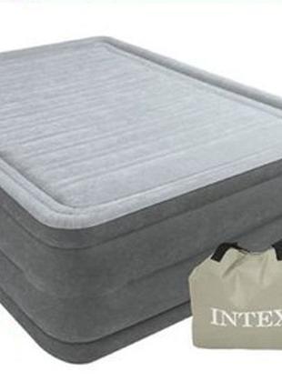Надувная двуспальная кровать Intex 64418 со встроенным электро...